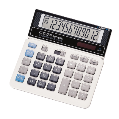 CITIZEN SDC-868L. Desktop calculator